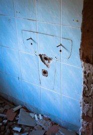 portret - łazienka